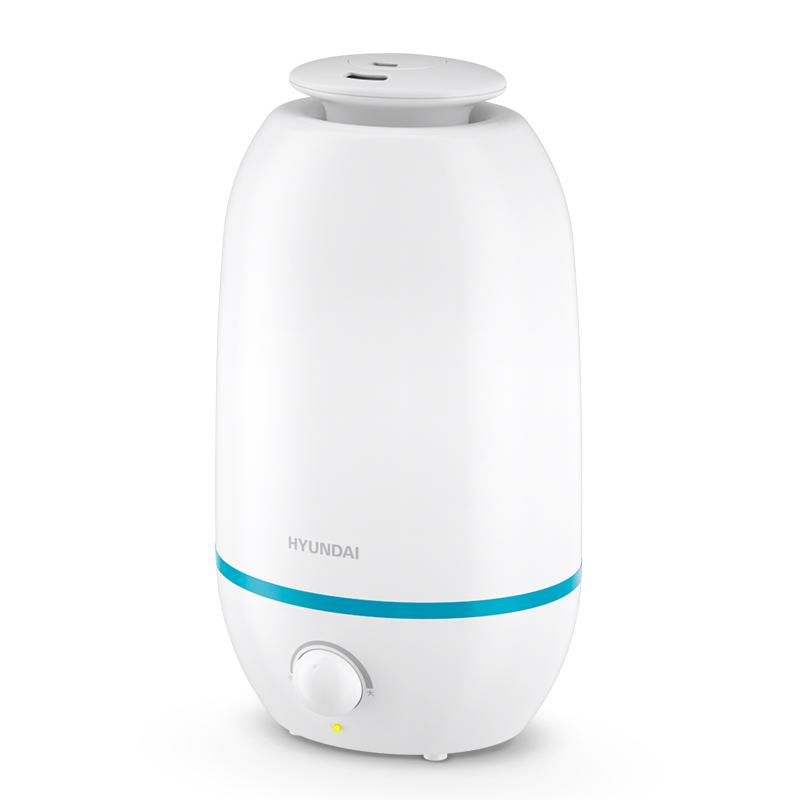 韩国现代HYUNDAI加湿器香薰机家用卧室办公室静音补水净化增湿器 PN-JS9601 白色