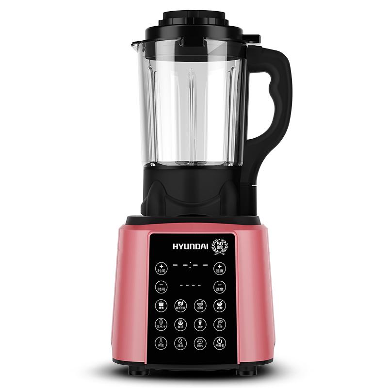 韩国现代HYUNDAI QC-LL2430加热破壁机多功能料理机婴儿辅食榨汁机