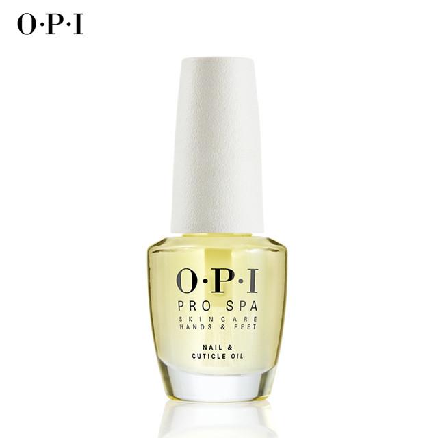 OPI指缘油OPI指甲油可可白茶营养油倒刺边缘手部修复指缘油14.8ml