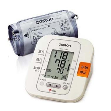 欧姆龙 电子血压计 HEM-7206