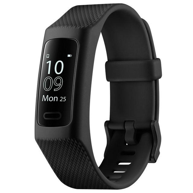 乐心手环3 智能手环 心率手环 运动手环 健康手环 来电显示 12种运动识别 有氧监测提升 IP68防水 黑色