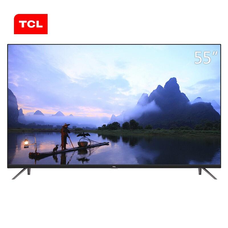 TCL 55A360 55英寸 4K超高清观影王HDR安卓智能液晶商用电视机