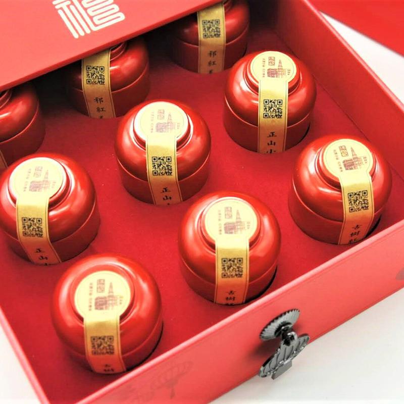 汪怡记画礼中国红茶集萃礼盒
