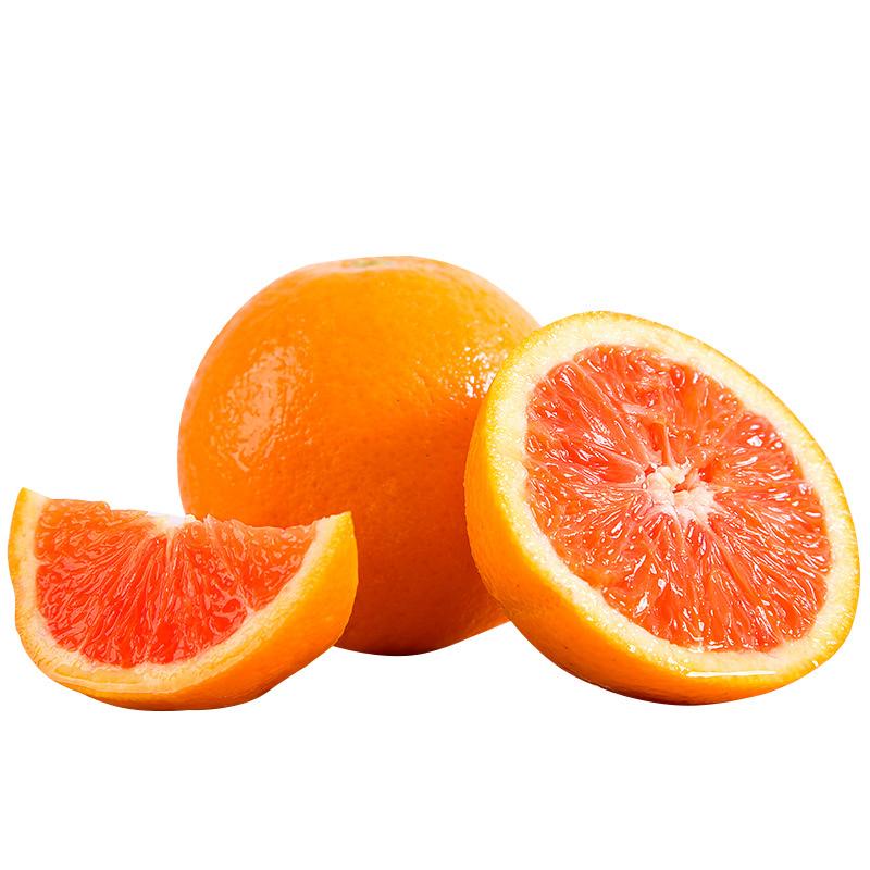 湖北中华红血橙5斤中大果装(约15个果)