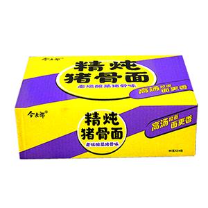 今麦郎精炖猪骨面老坛酸菜猪骨味方便面 95g*24包 整箱 炒拌泡面大骨面