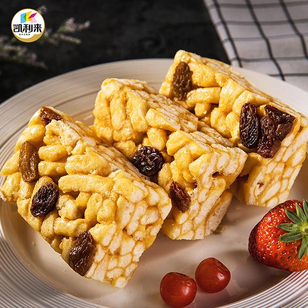 凯利来沙琪玛1000g提子味小吃网红零食糕点早餐整箱