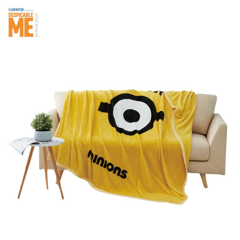 神偷奶爸小黄人时尚绒毯ME-FMT502