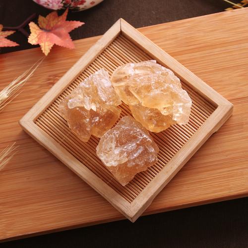 【秒杀特价】嗨吃鲜生 云南大粒多晶黄冰糖500g/袋 传统工艺蔗糖提炼原汁原味