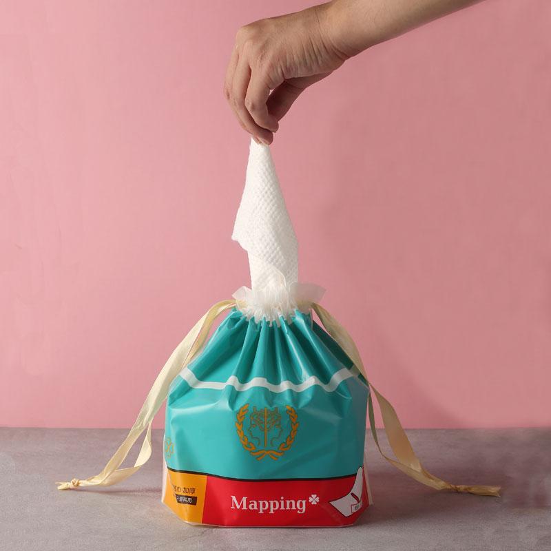 【品质特价】玛品Mapping卷装美容巾70片/卷 加厚30% 干湿两用清洁力强细腻亲肤