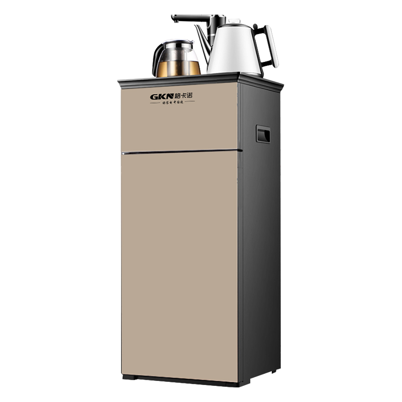 GKN格卡诺多功能茶吧机即热式直饮机管线机家用自动上水智能控温 立式饮水机办公室智能温热型 GKN-CBJ-1(金色)