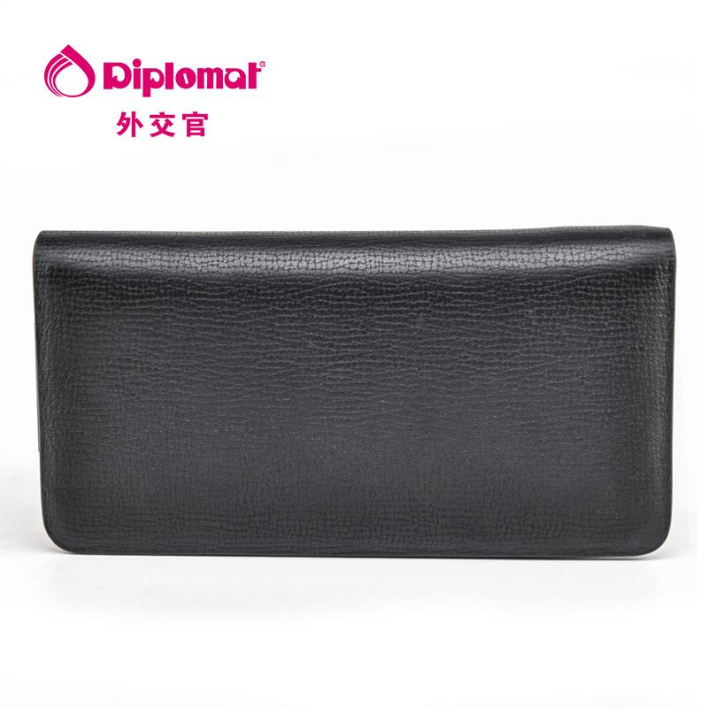 外交官Diplomat 黑色拉链手包DS-1268-4 黑色