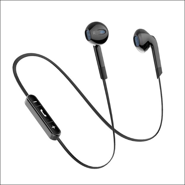 兰士顿BL6无线运动蓝牙耳通用双耳入耳跑步挂耳头戴式耳机
