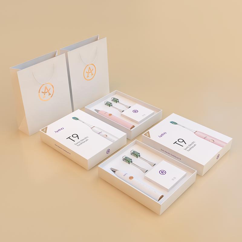 Apiyoo-成人电动牙刷 T9成人电动牙刷(粉色) 成人