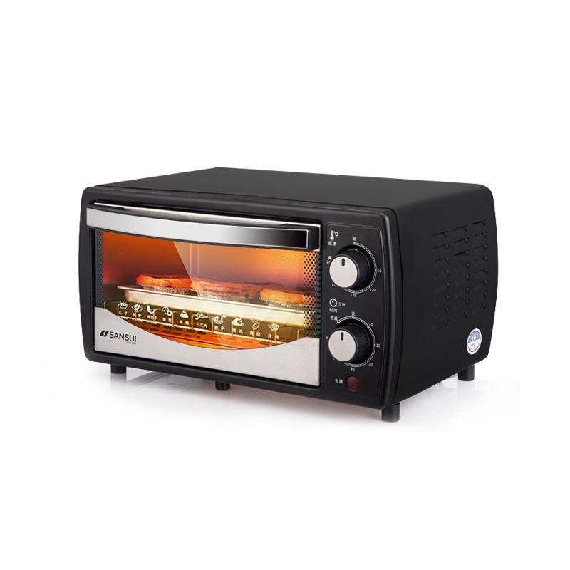 山水(SANSUI)电烤箱家用迷你小型烘焙小烤箱控温烤蛋糕披萨SKX03