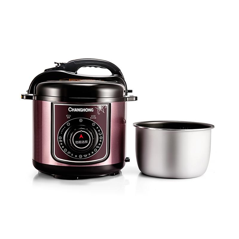 长虹(CHANGHONG)电压力锅 CYL-40E01J 煮饭、焖肉/鸡、煲汤、煲粥、蹄筋等多功能