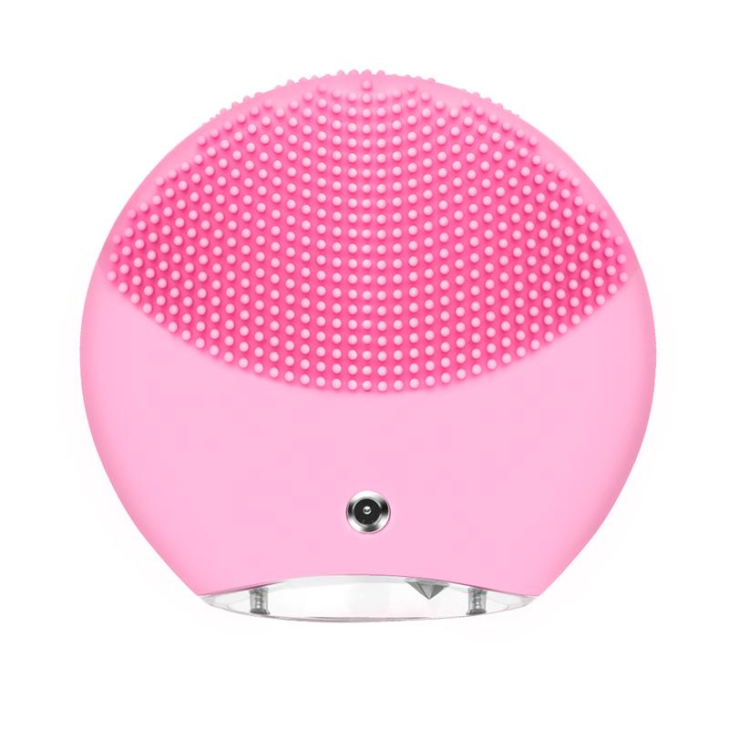 长虹(CHANGHONG)毛孔净透洗洁面仪JMY-H6,两区洁面刷头,柔滑质感,安心舒心硅胶材质