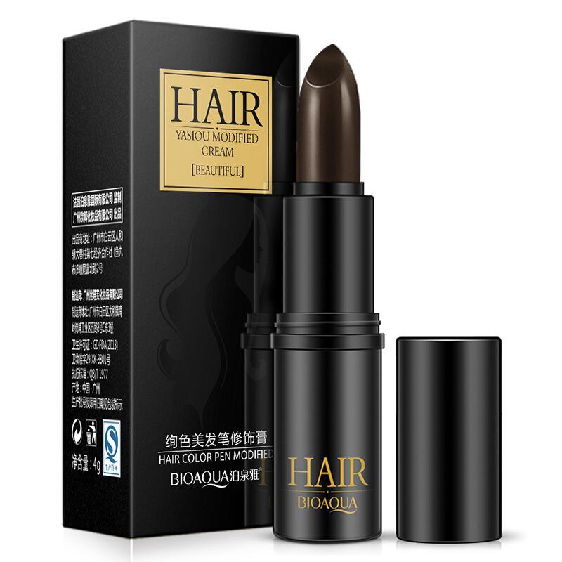 泊泉雅美发笔黑棕色修饰 头发打蜡头发发际线护发 美发用品 黑棕色