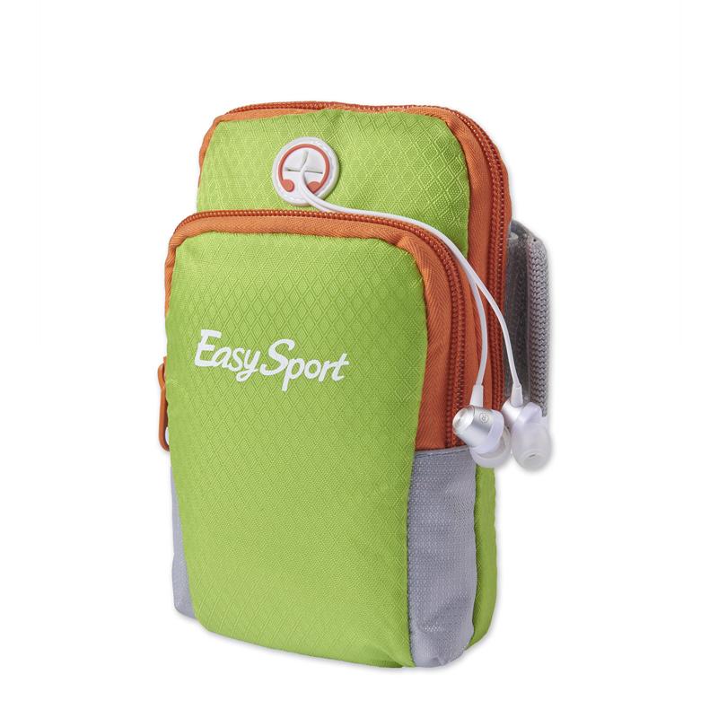 易威斯堡(EasySport)尼龙材质 音乐臂包 轻便舒适骑行臂包 透气防水运动臂包ES-AB001