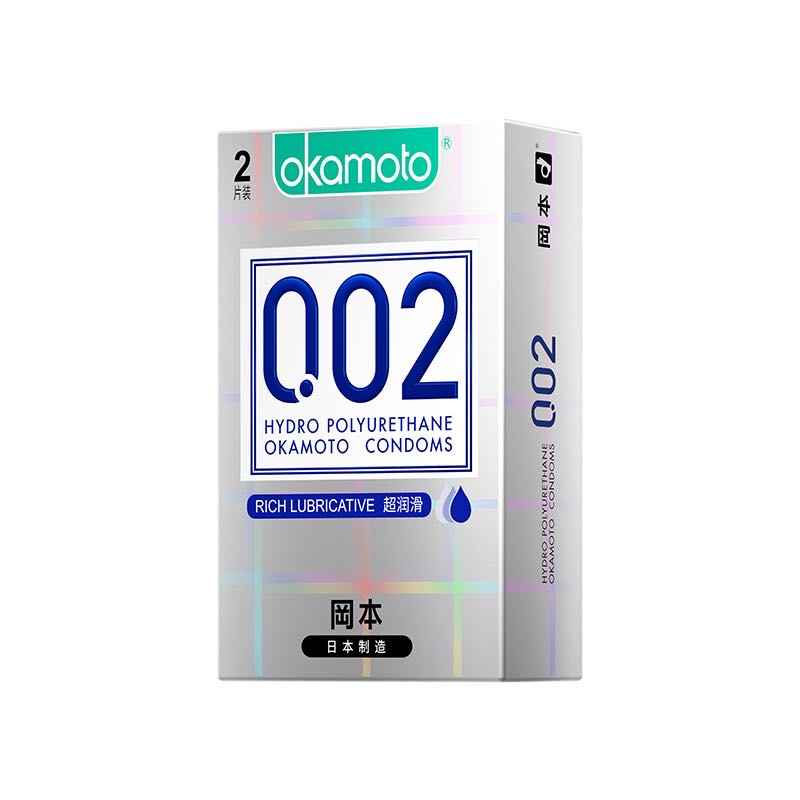 冈本0.02聚氨酯避孕套2只