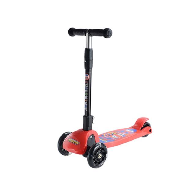 超级飞侠可折叠闪光儿童滑板车MP-HBC001