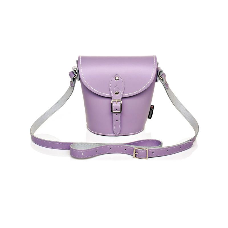 Zatchels淡紫色水桶包