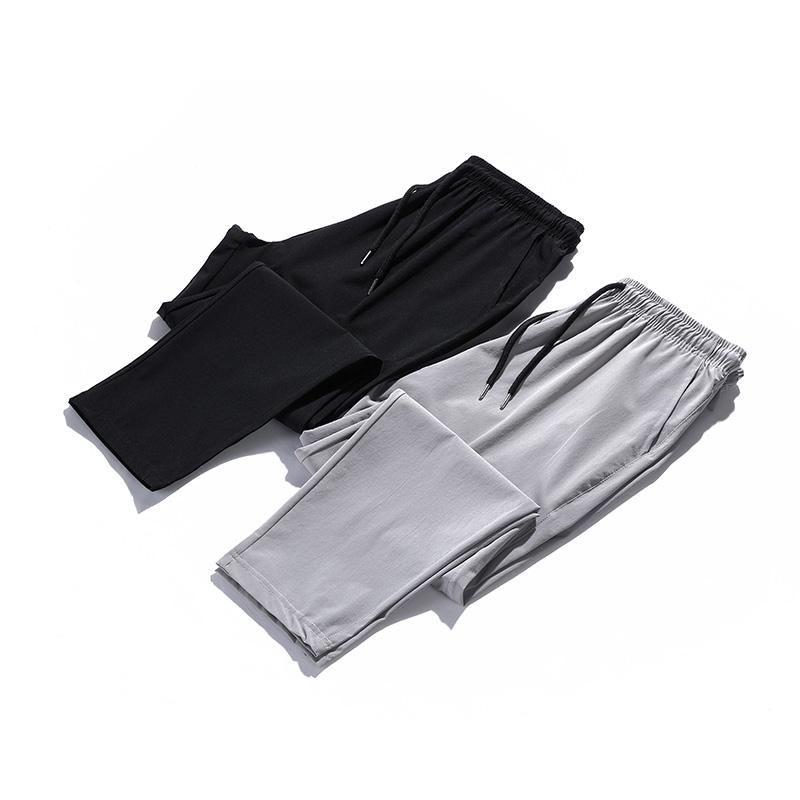 吉普盾 夏季新品薄款弹力休闲百搭时尚九分裤 TH111