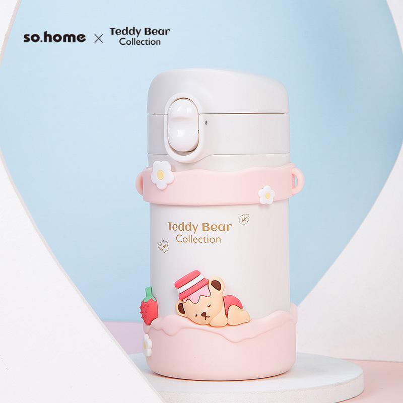so.home珐琅 泰迪珍藏搪瓷保温杯