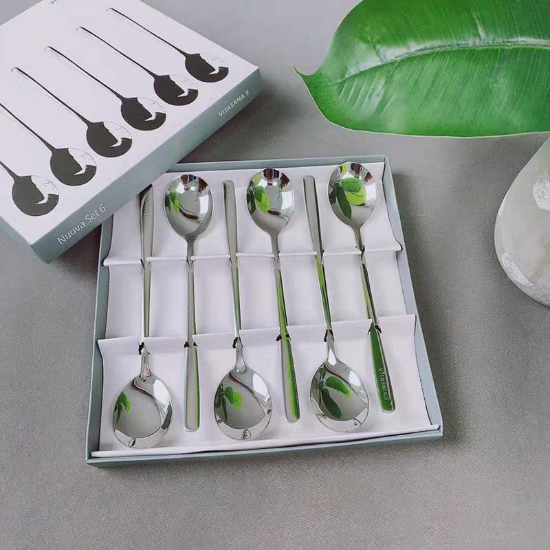 陌莎出口德国Ernesto汤勺礼盒6把装 光滑圆润、抗摔耐磨法式优雅高品质的享受