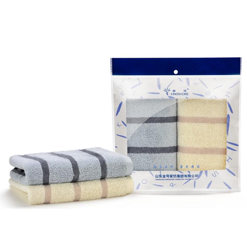 金号 扶桑寄语毛巾系列 双条毛巾袋装HY1698