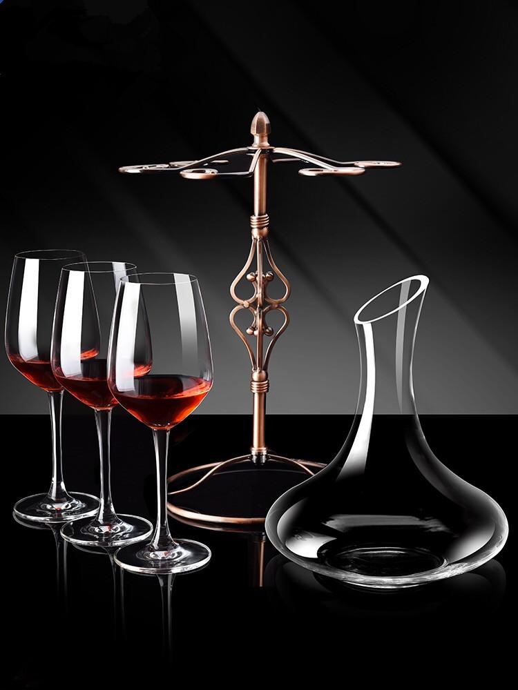 高档勃艮第欧式红酒杯4只礼盒/套