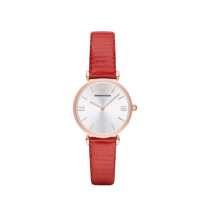 Armani阿玛尼手表女表 女士石英腕表 休闲时尚商务皮带款式 AR1876