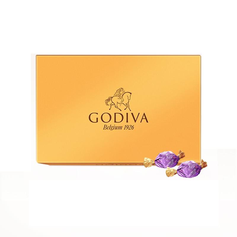 【七夕情人节礼物】歌帝梵 欢享松露形黑巧克力40颗装