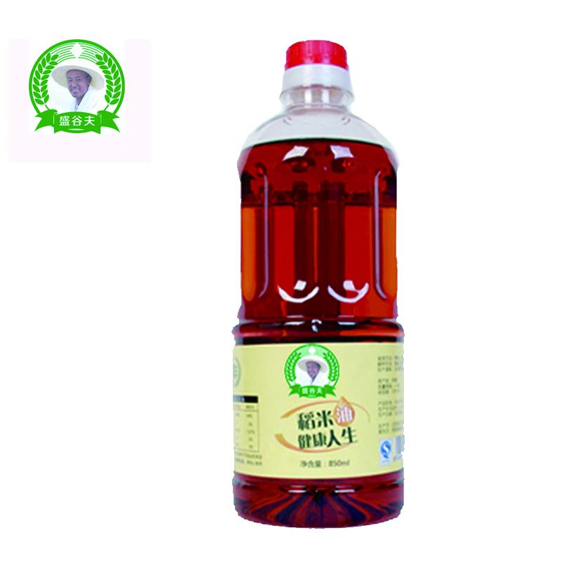 盛谷夫稻米胚芽油 心脏油谷维素康复油 850ml*2/件包邮