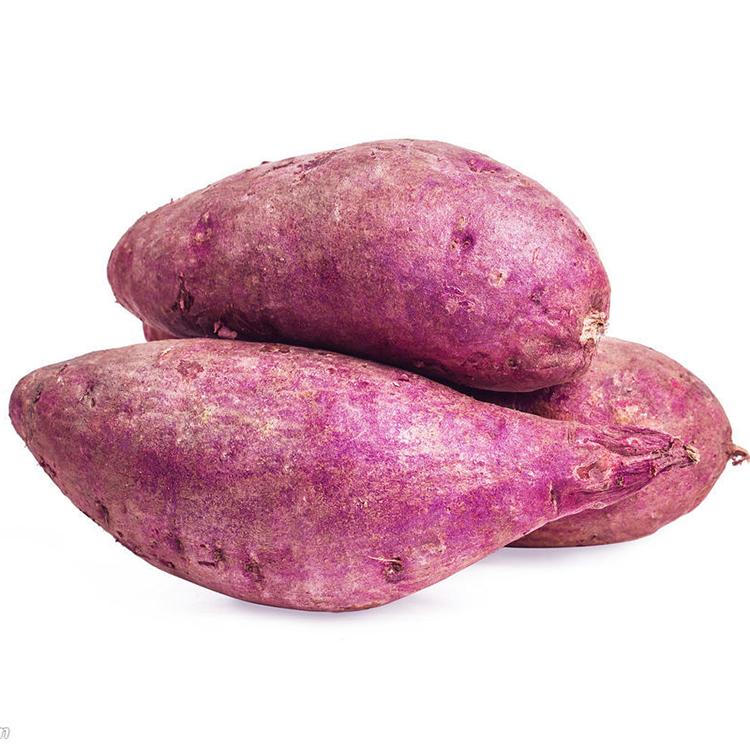 山东紫罗兰紫薯新鲜现挖整箱红薯番薯红沙土地瓜9斤中大果包邮