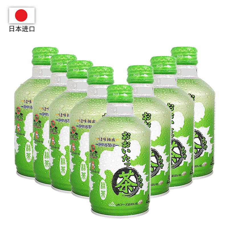 日本进口 JA大分茶饮料275ml*24瓶装(一箱)