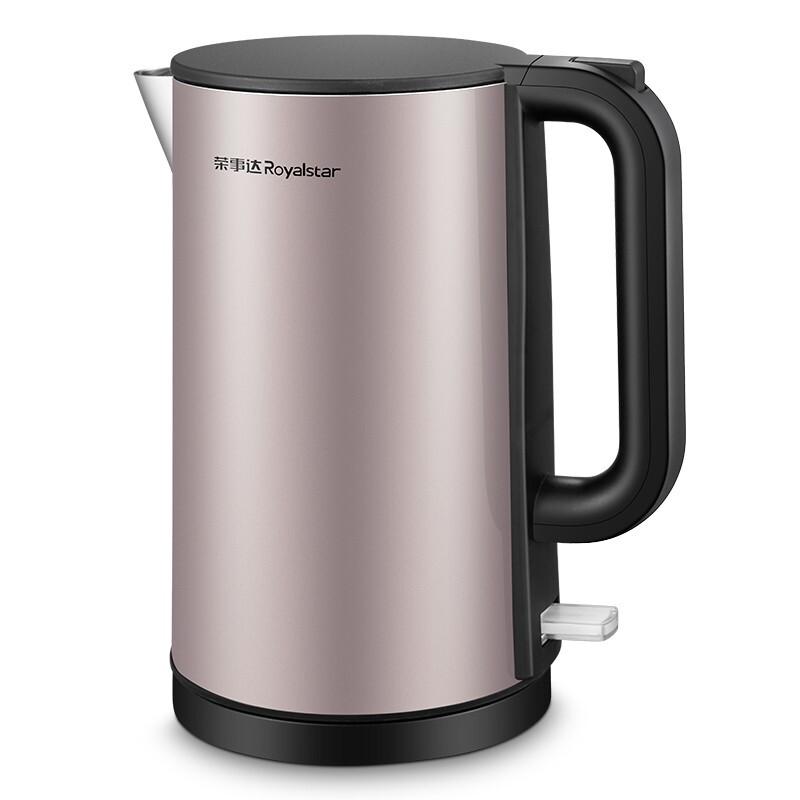 荣事达Royalstar 双层防烫电热水壶  GS18B07 1.8L 1500W