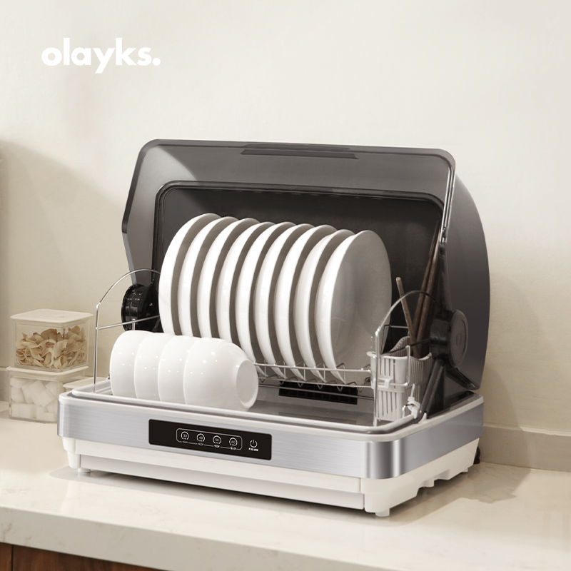 olayks 消毒柜家用小型碗筷消毒柜消毒碗柜机迷你台式32L/42L